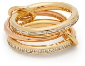 Spinelli Kilcollin Mozi 18kt Gold, Rose-gold & Diamond Ring - Gold