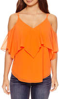 Bisou Bisou Side Slit Strap Cami Top