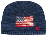 Ralph Lauren American flag beanie hat