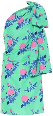 BERNADETTE Josselin floral satin dress