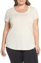 Zella Plus Size Women's 'Siesta' Short Sleeve Tee