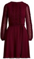 Thumbnail for your product : Lauren Ralph Lauren Ralph Lauren Chiffon Long-Sleeve Cocktail Dress