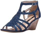 Kensie Women's Sisha Wedge Sandal