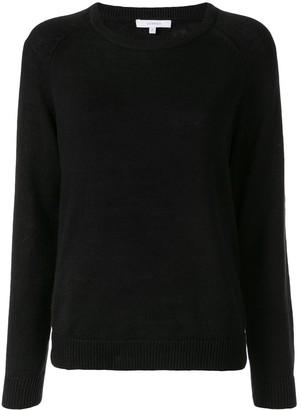 Venroy plain round neck jumper