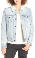 Levi's Trucker Jacket with Faux Fur Trim (East Alley)