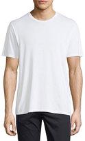 Vince Short-Sleeve Crewneck Jersey T-Shirt, White