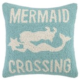 The Well Appointed House Mermaid Crossing Pillow