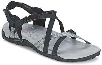 Merrell TERRAN LATTICE II women's Sandals in Black