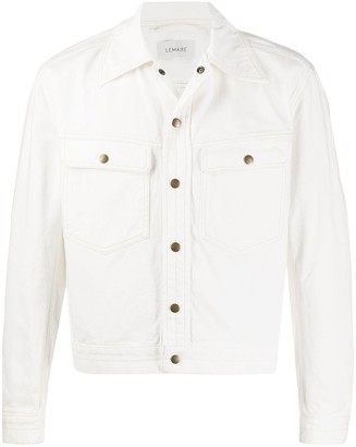 Lemaire Long Sleeve Flap Pocket Jacket