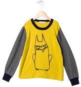 Stella McCartney Boys' Cartoon Bird Print Sweater