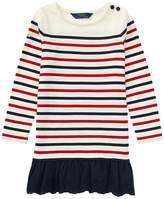 Polo Ralph Lauren Striped Cotton Jersey Dress Girl's Dress