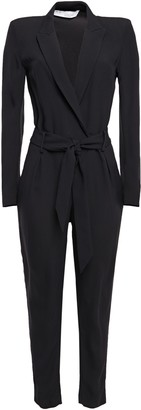 IRO Delicate Belted Crepe Jumpsuit