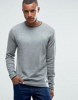 ONLY & SONS Sweater with Contrast Trim