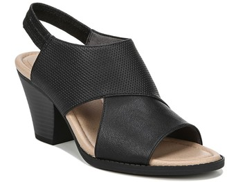 Dr. Scholl's Lemon Block Heel Sandal