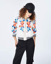 Nicole Miller Daydream Embroidery Bomber