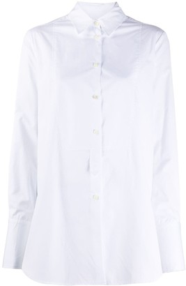 Alberto Biani Long-Sleeved Cotton Shirt