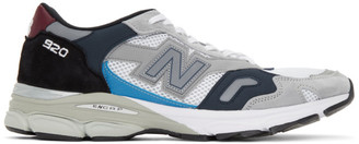 New Balance Blue and Grey Made In UK 920 Sneakers