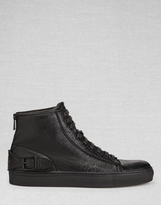 Belstaff Borough High-Top Sneakers Black