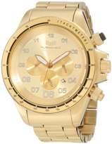 Vestal Men's ZR3020 ZR-3 Brushed Gold Chronograph Watch