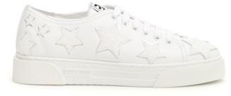 Miu Miu Star Embellished Sneakers
