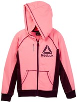 Reebok Practice Makes Perfect Zip Front Hoodie Jacket (Big Girls)