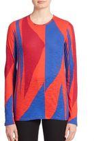 Proenza Schouler Printed Long Sleeve Shirt