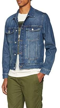 Wood Wood Men's Angel Jacket (Mid Blue), Medium