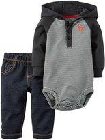 Carter's 2 Piece Pant Set (Baby) - Denim - 24 Months