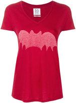 Zoe Karssen bat stencil T-shirt