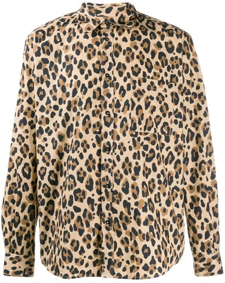 MSGM Leopard Print Shirt