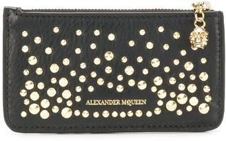 Alexander McQueen Zippered Card Holder wallet