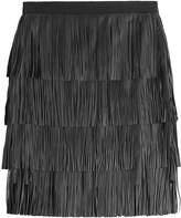 DAY Birger et Mikkelsen Chaabi Fringed Leather Skirt