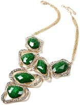 Amrita Singh Evergreen Austrian Crystal & Goldtone Harper Necklace