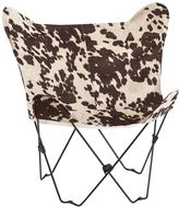 Junk Gypsy Faux Cowhide Butterfly Chair
