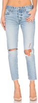 Moussy Sanford Distressed Skinny