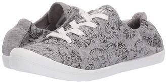 Skechers BOBS from Beach Bingo - Kitty City (Gray) Women's Shoes