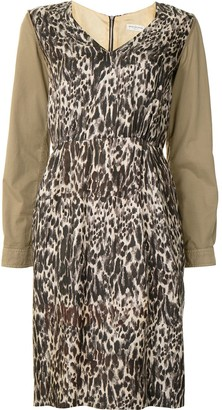 Dries Van Noten Pre-Owned Leopard Print Dress