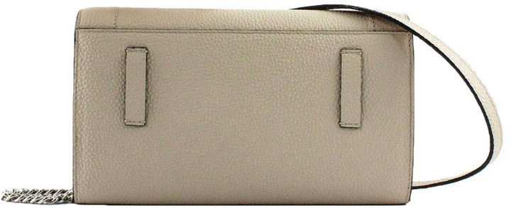 Thumbnail for your product : Lancel Roche Leather Chain Wallet