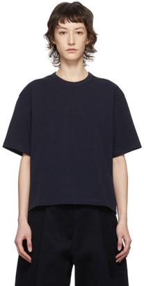 Studio Nicholson Navy Lee T-Shirt