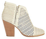 Rag & Bone Margot Perforated Leather Double Zip Booties