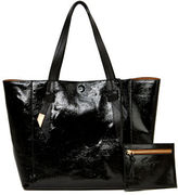Foley + Corinna Ashlyn Leather Tote & Honey Suede Pouch Set