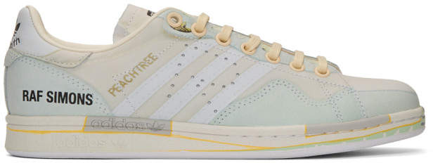 save off f3707 19b8e Off-White adidas Originals Edition Peachtree Stan Smith Sneakers