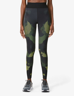 ULTRACOR Mesh Camo high-rise stretch-jersey leggings