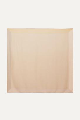 Loro Piana Infinito Cashmere And Silk-blend Scarf - Neutral