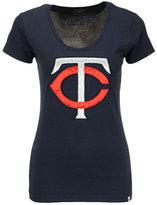 '47 Women's Minnesota Twins Satin Scoop T-Shirt