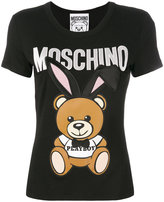 Moschino embroidered Playboy toy T-shirt