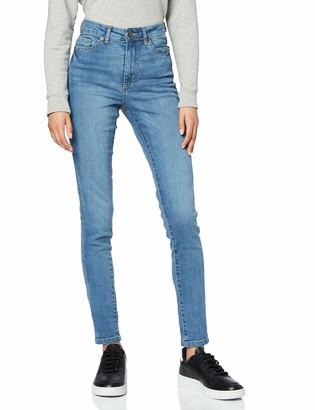Urban Classics Women's Ladies High Waist Slim Jeans Trouser