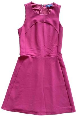 Madewell Burgundy Cotton Dress for Women