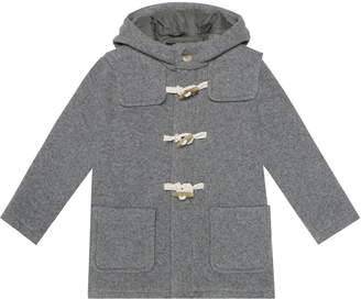 Il Gufo Cotton and wool-blend duffle coat