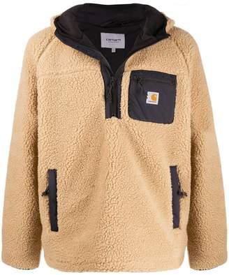 Carhartt WIP zipped fleece hoodie